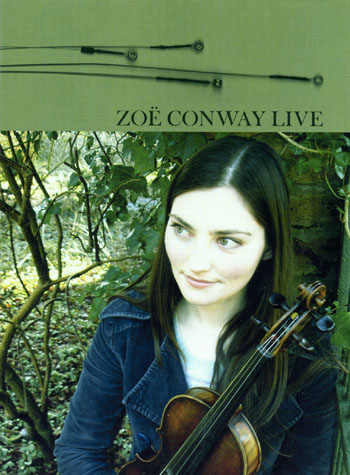 Zoe Conway Live DVD cover